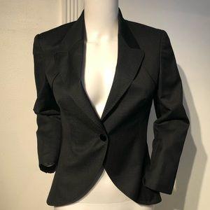 Stella McCartney Charcoal Gray Blazer Jacket